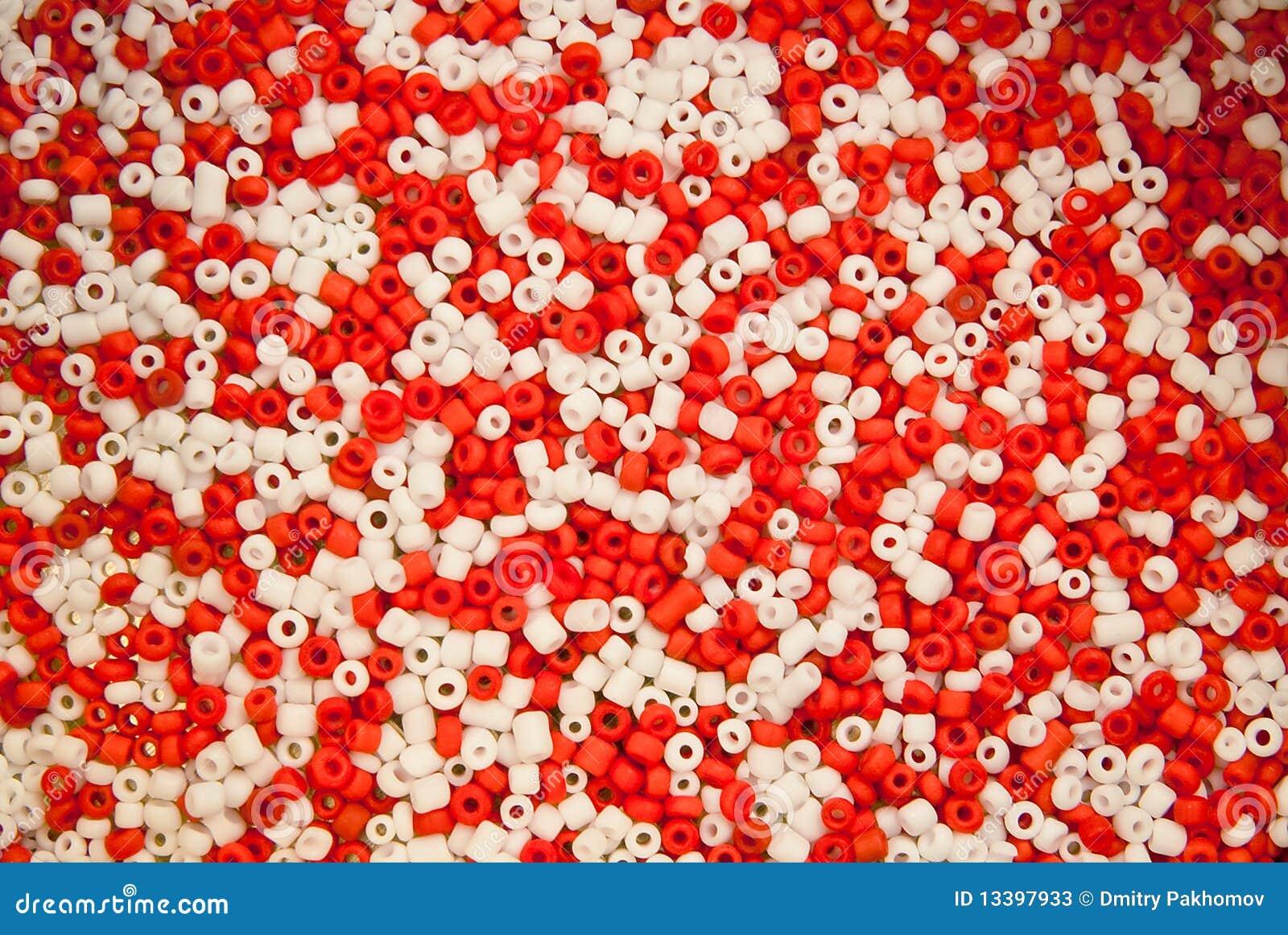 Um montão de grânulos cerâmicos