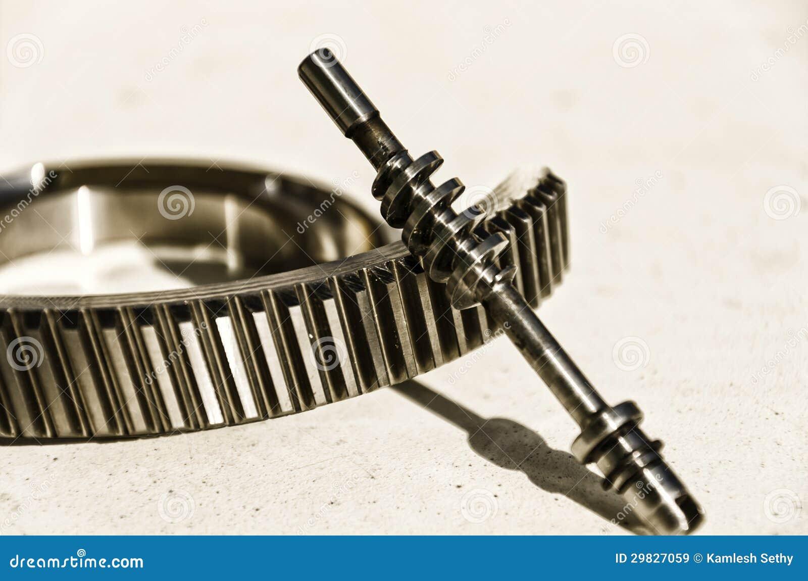 Roda de engrenagem de sem-fim e de sem-fim