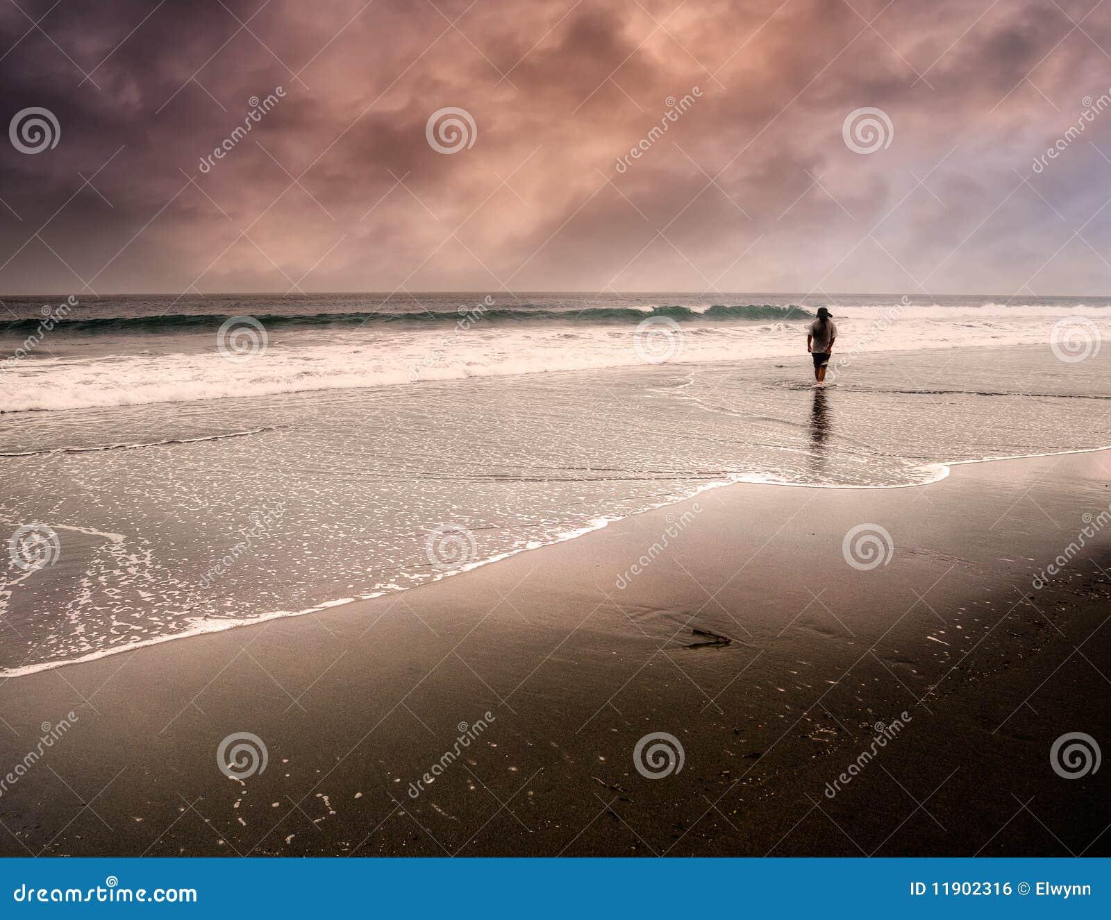 Um passeio do homem só