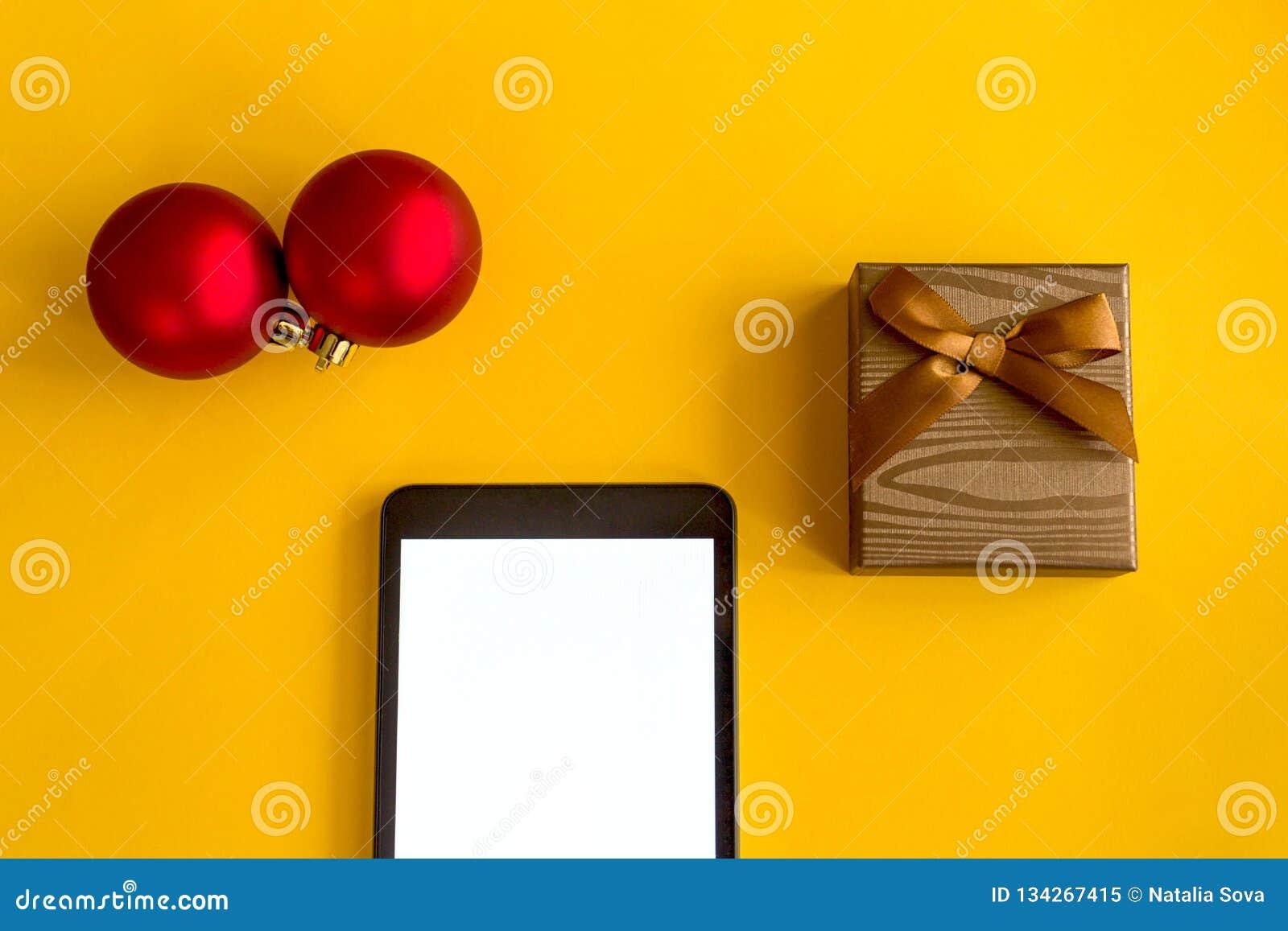 Um presente para o ano novo e o Natal