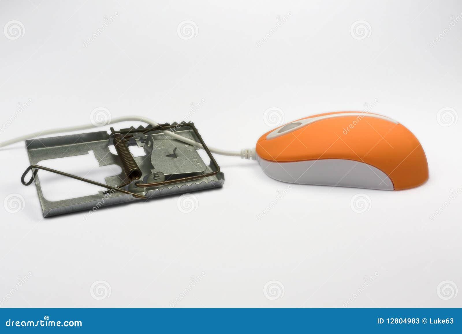 Um rato e uma armadilha