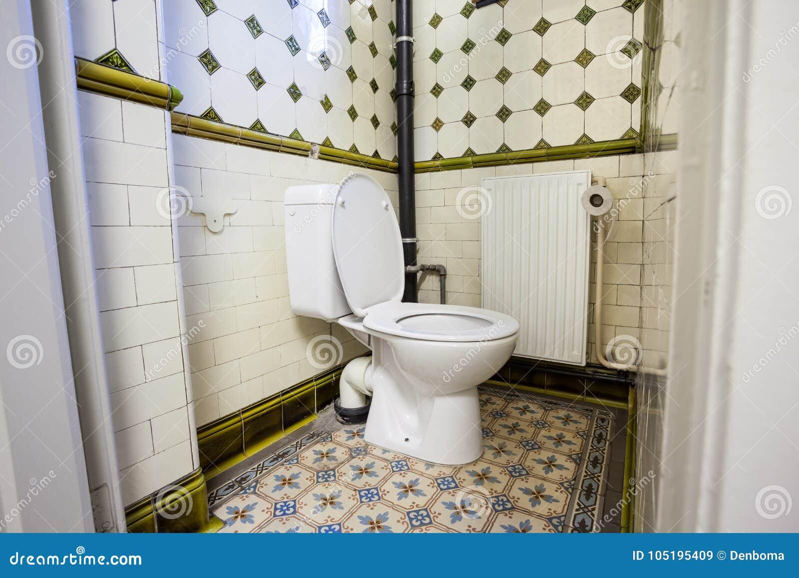 Um toalete público