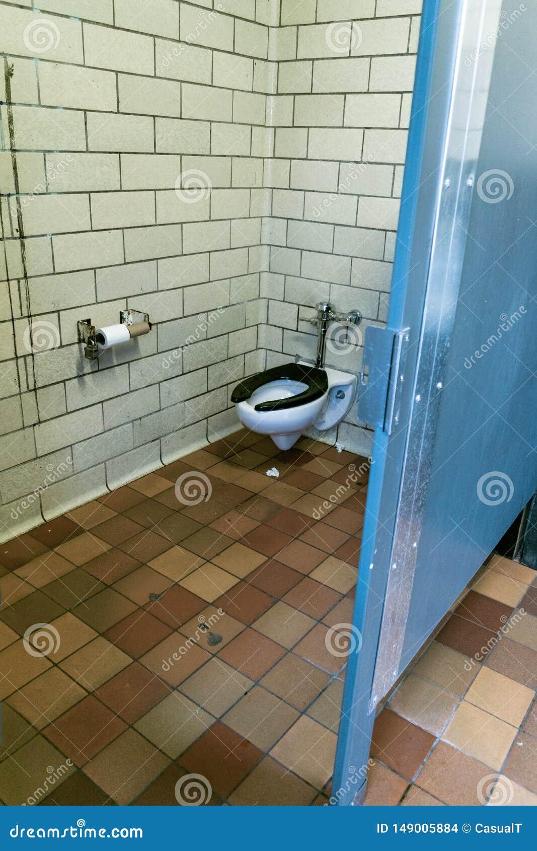 Um toalete p?blico um tanto impuro em New York City