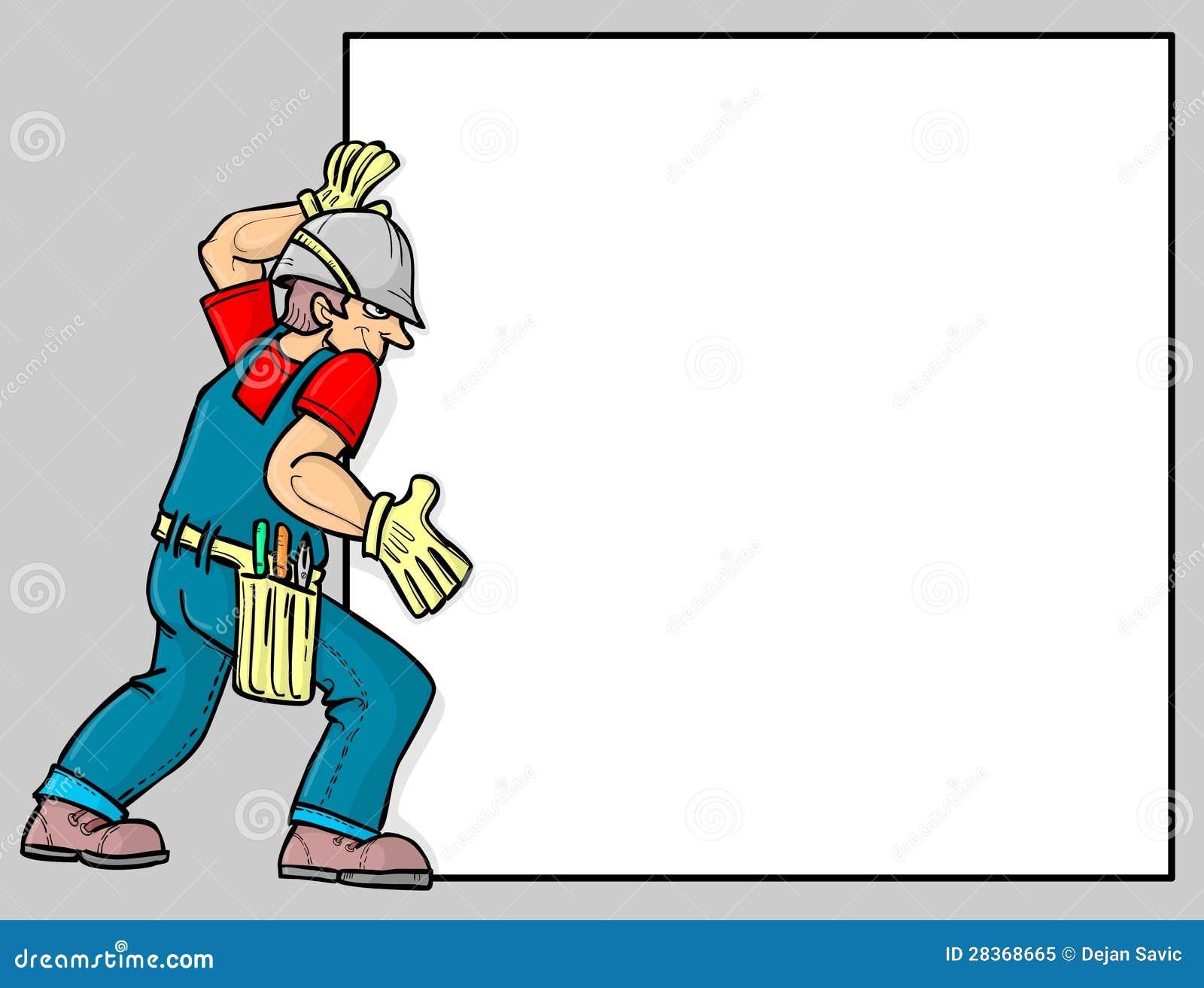 Um trabalhador