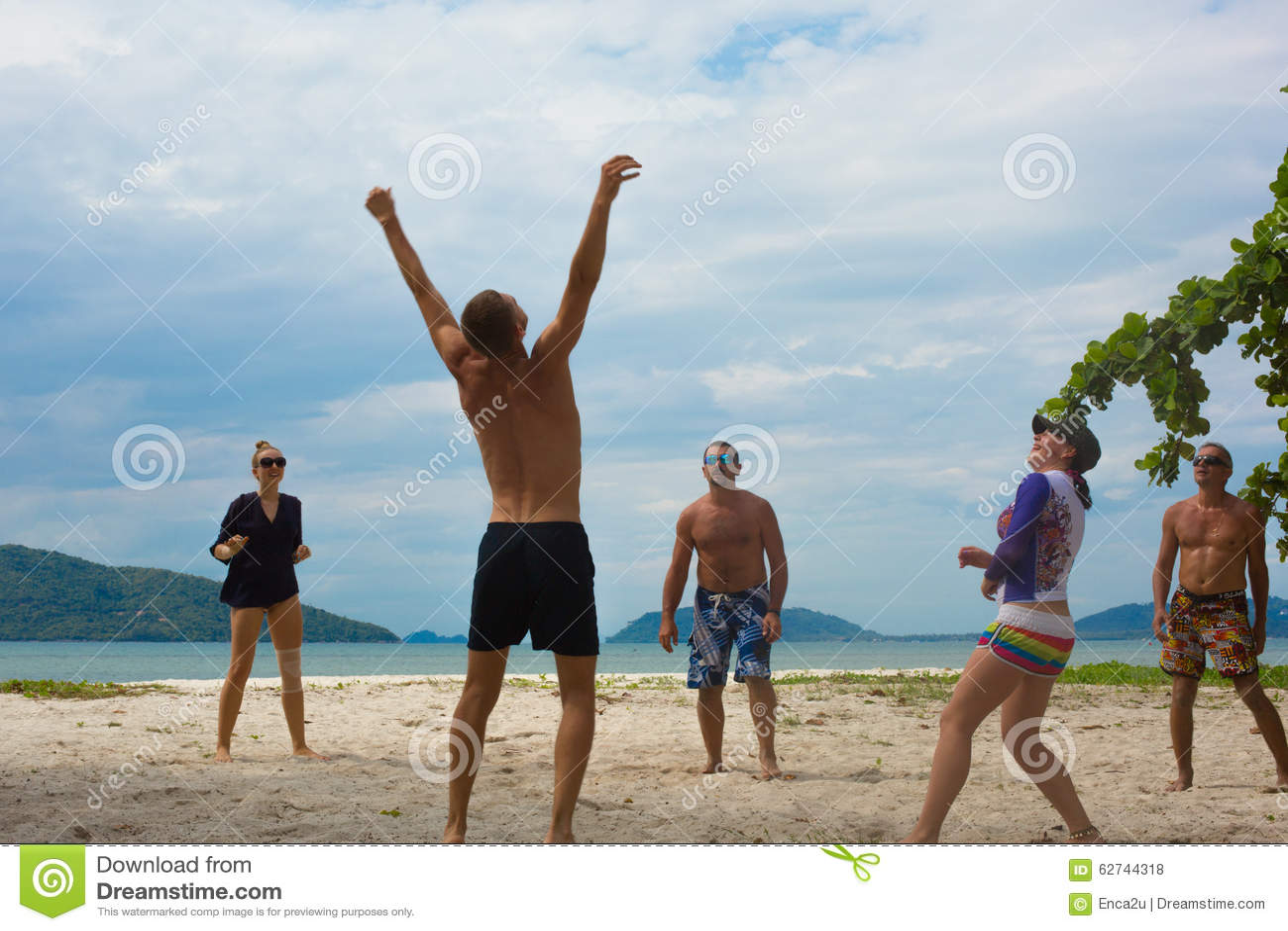 Um winer do voleibol de praia