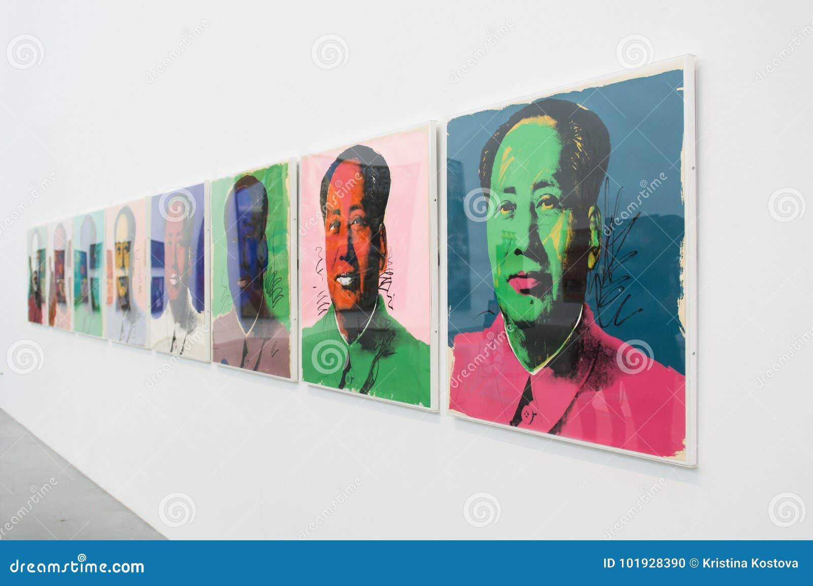Uma Arte Finala Por Andy Warhol Em Tate Modern Famosa Em Londres Imagem Editorial Imagem De Localizado Sightseeing 101928390