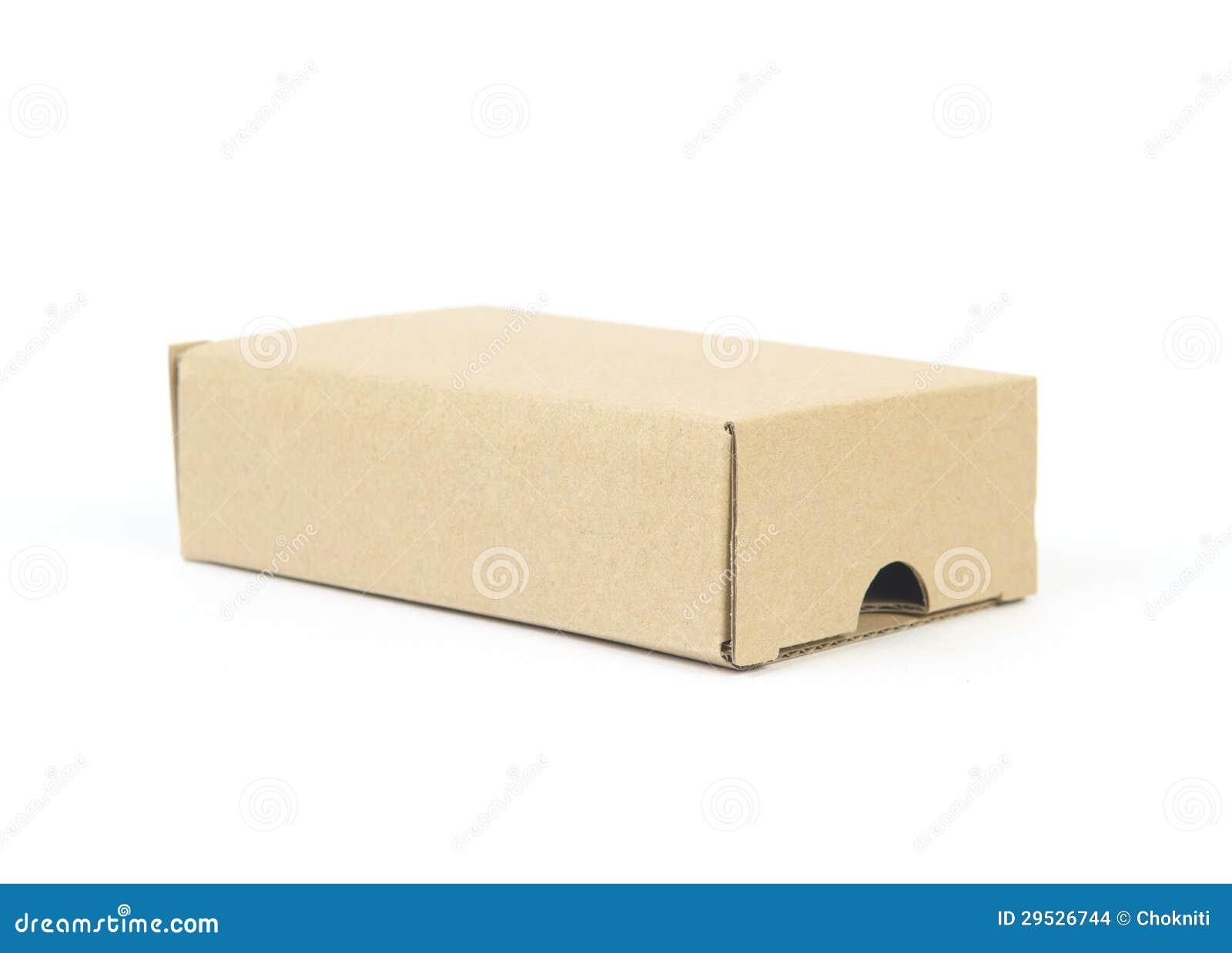 Uma caixa de cartão
