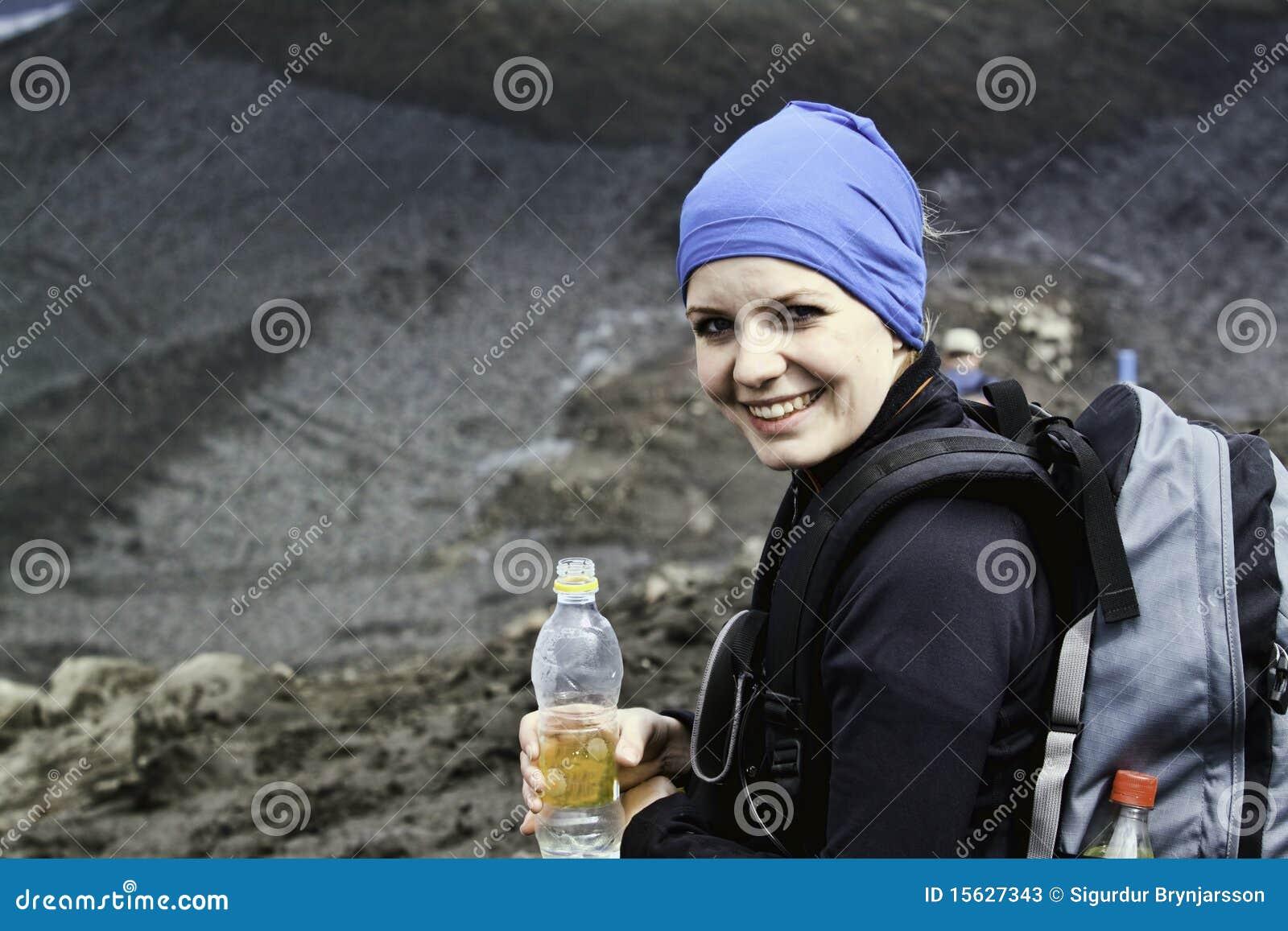 Uma caminhada da mulher