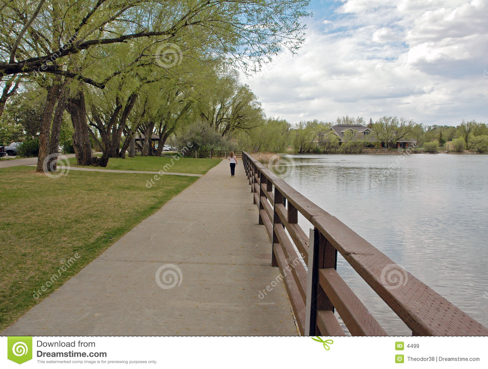 Uma caminhada no parque