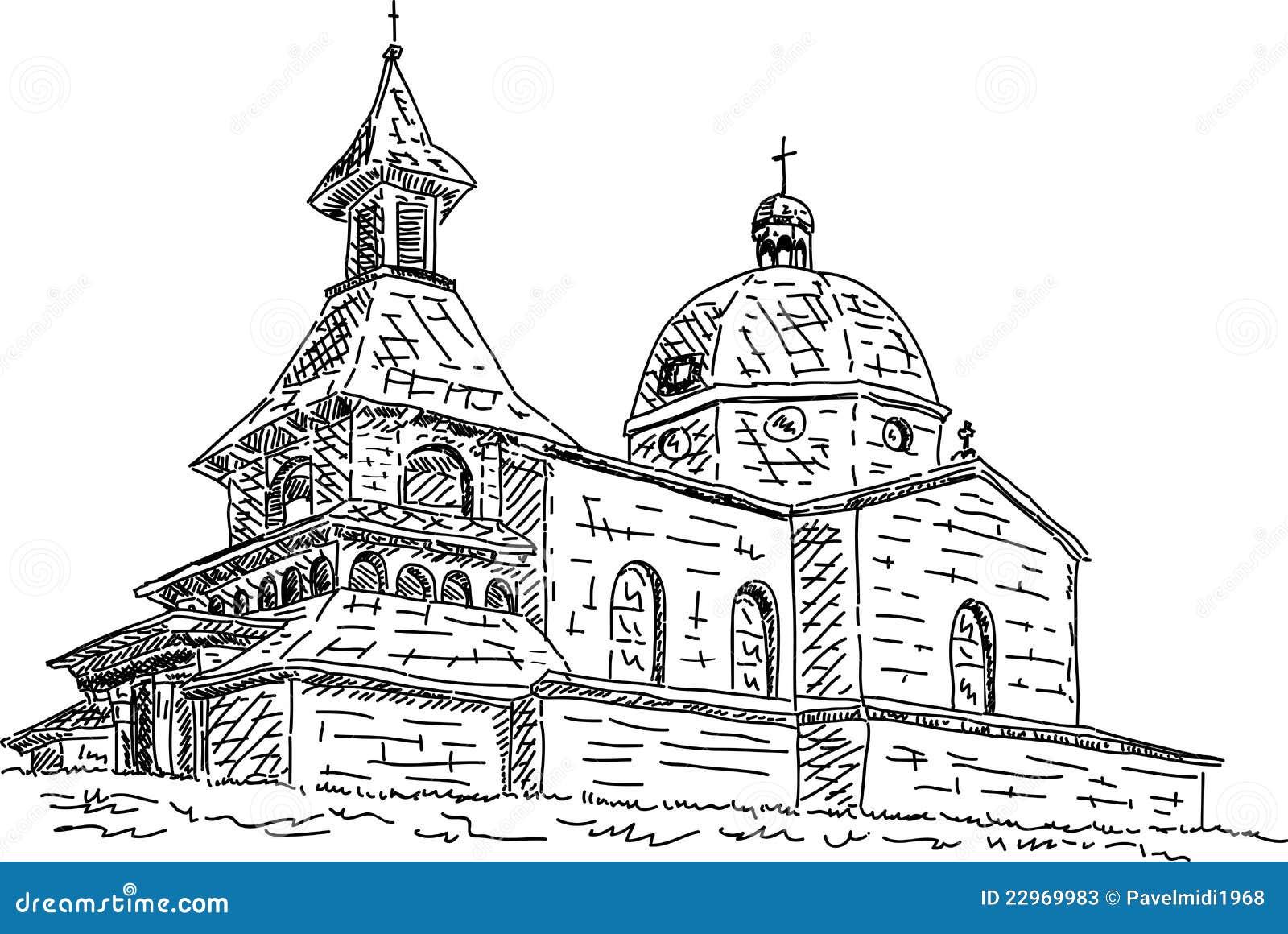 Uma capela de Saint Cyril e Methodius