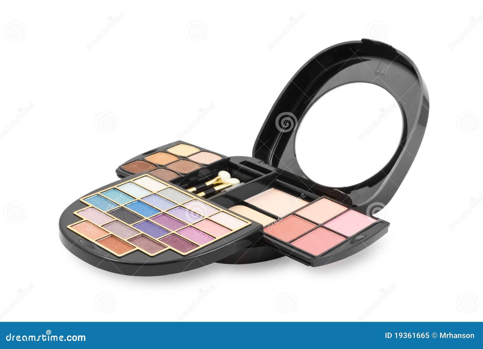 Uma composição colorida - jogo dos cosméticos