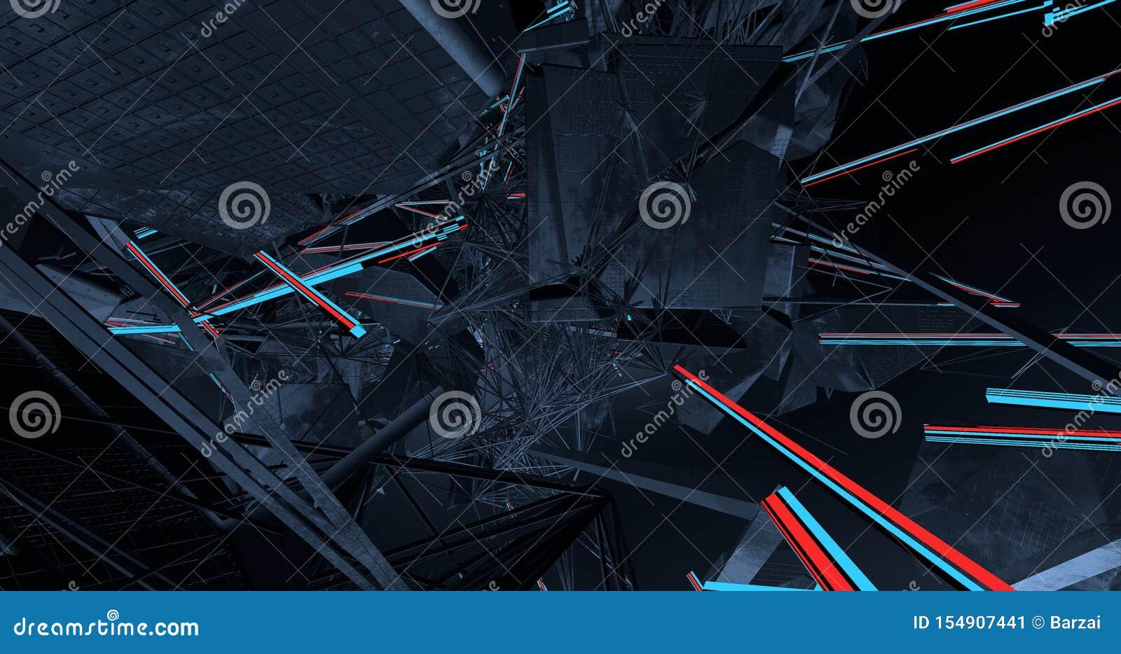 Uma conexão complexa das linhas