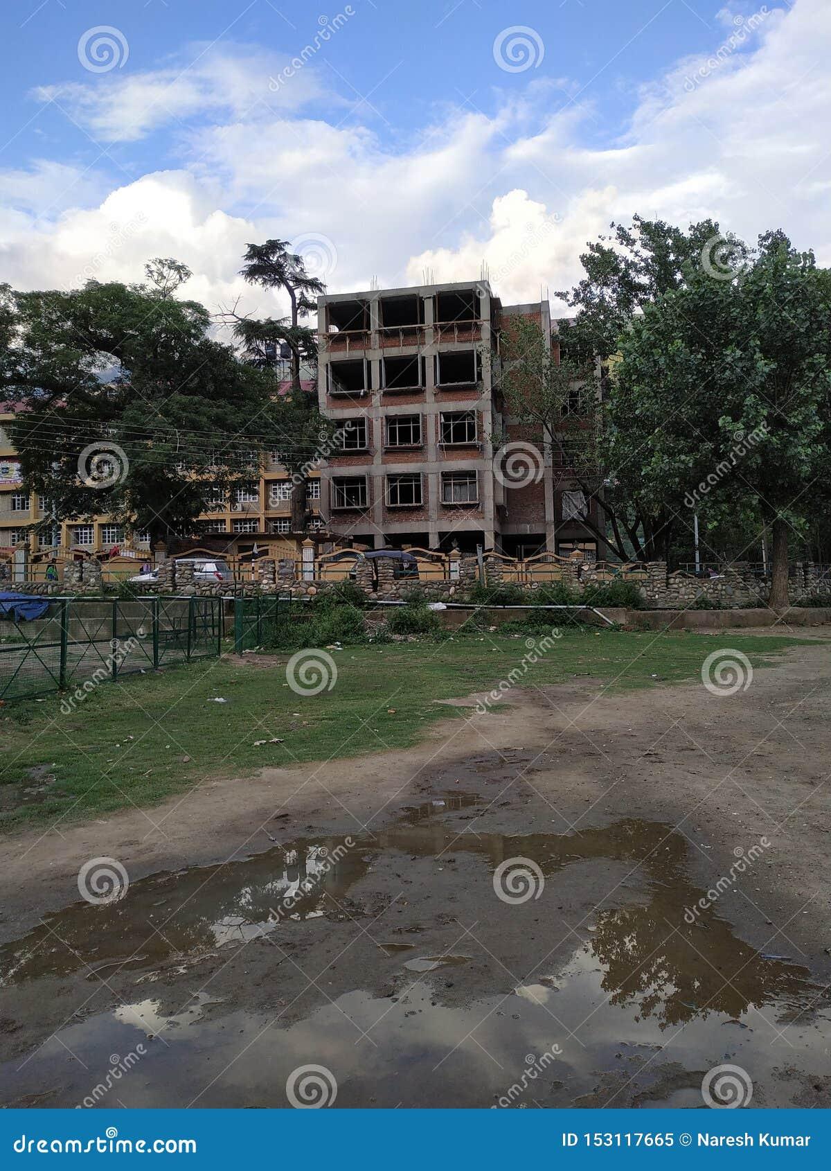 Uma construção de construção