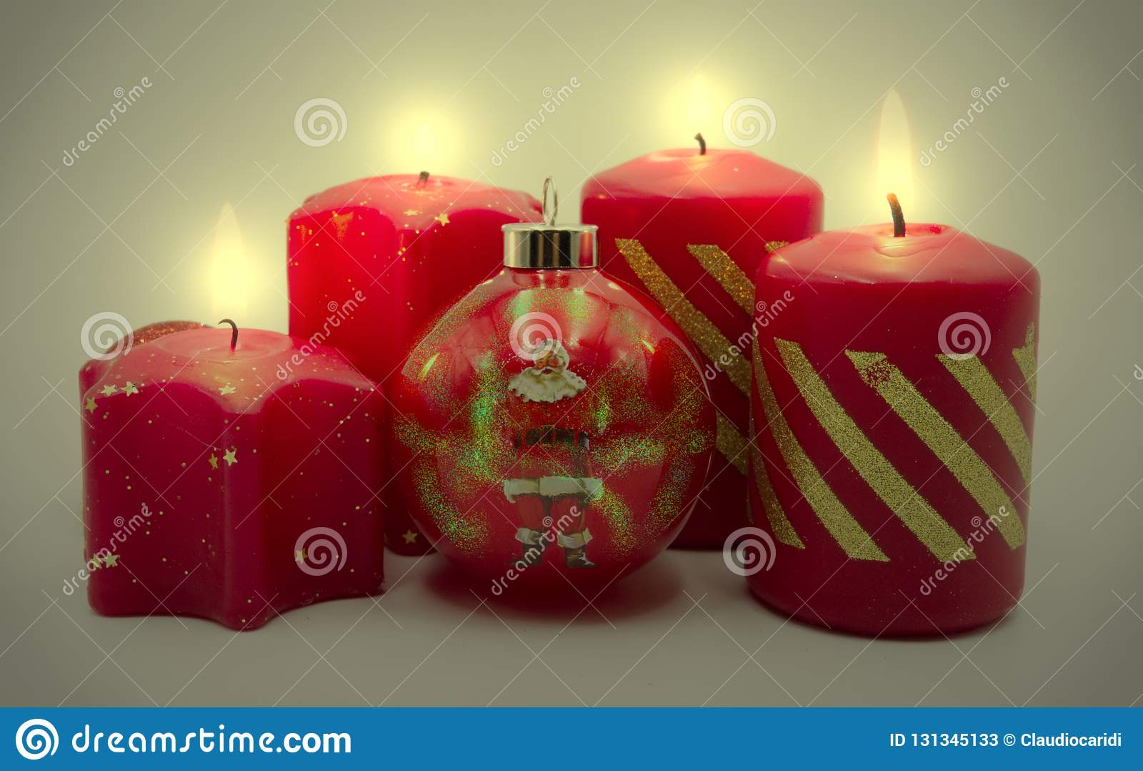 Uma decoração do Natal