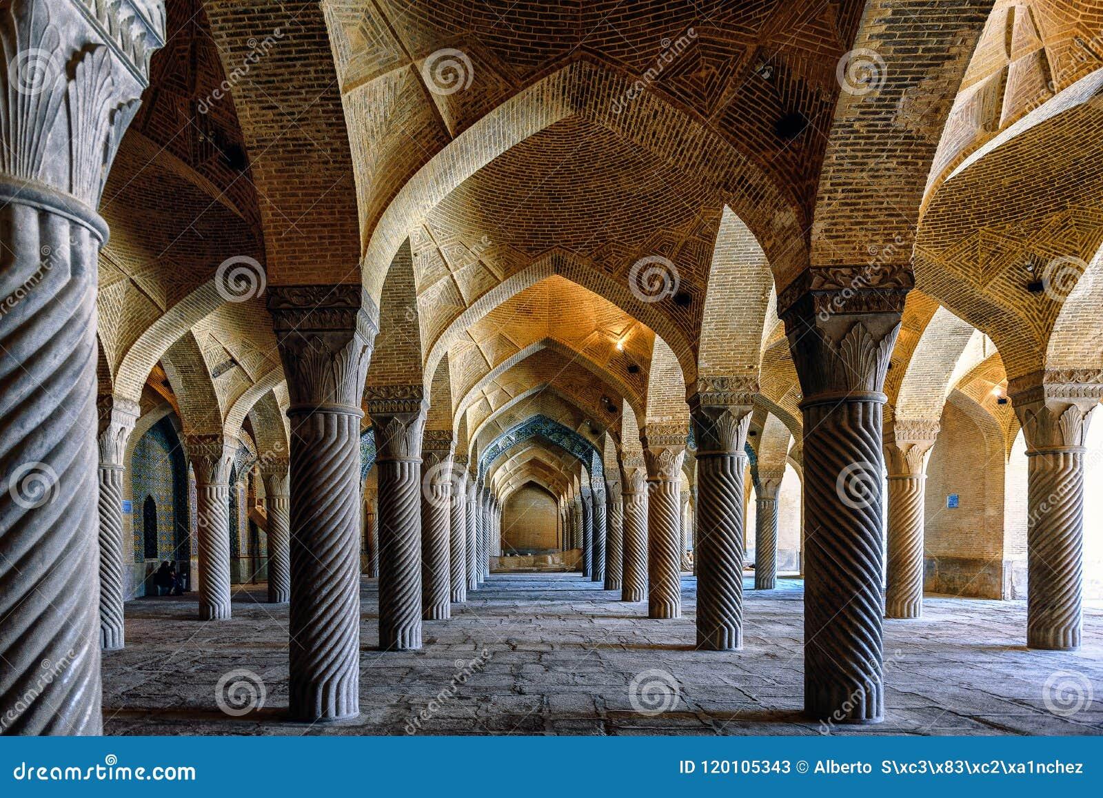 Uma floresta de pedra em Shiraz
