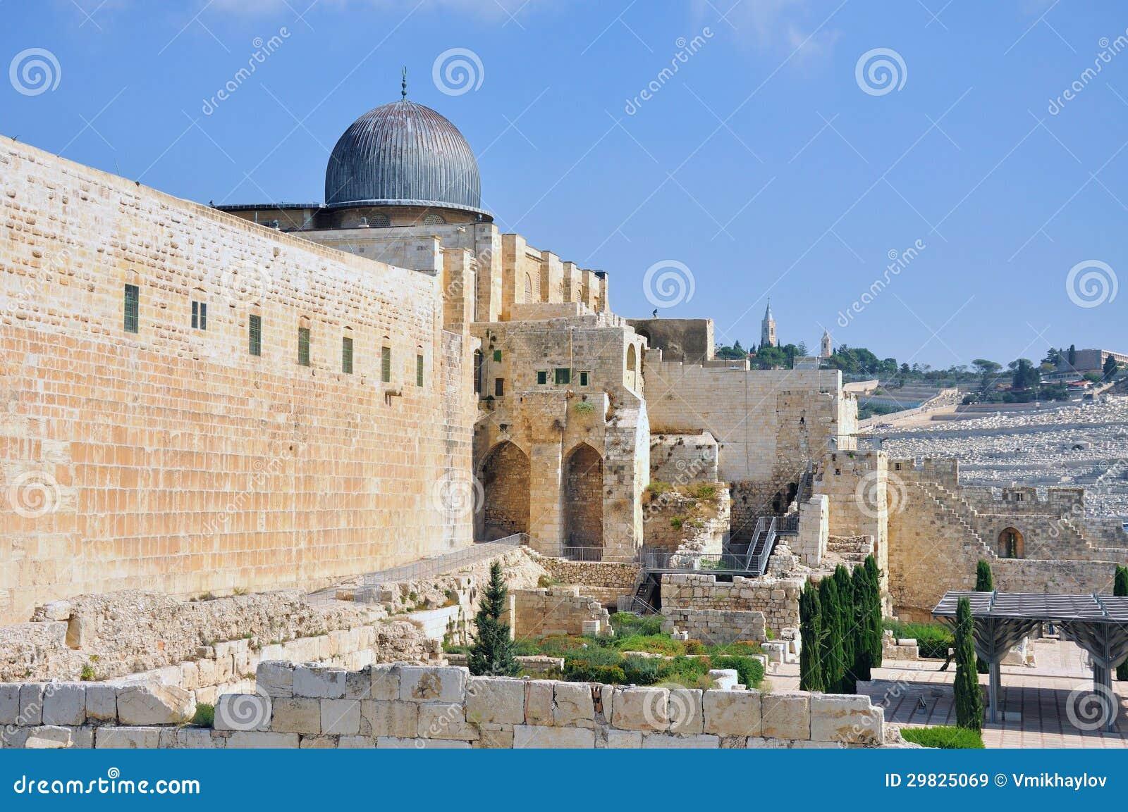 Jerusalem velho Temple Mount