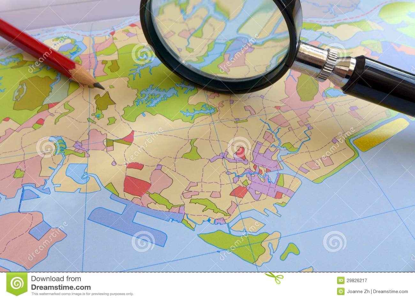 Uso de terra - conceito litoral do planeamento urbanístico
