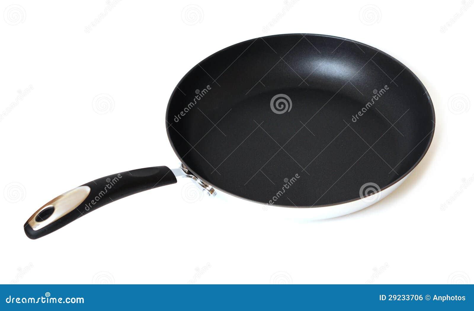 Download Uma Frigideira Não-aderente Foto de Stock - Imagem de aço, equipamento: 29233706