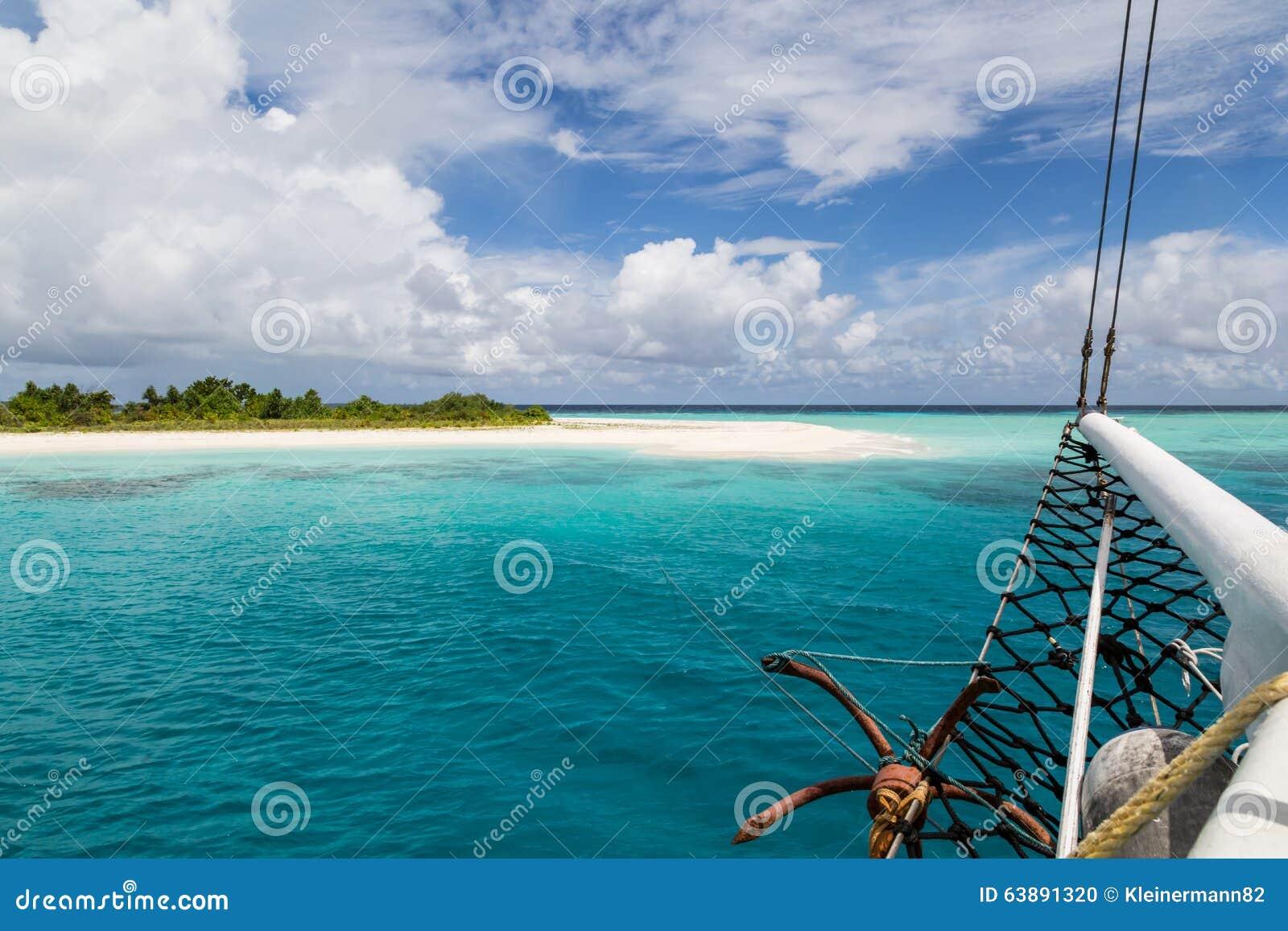 Uma ilha abandonada