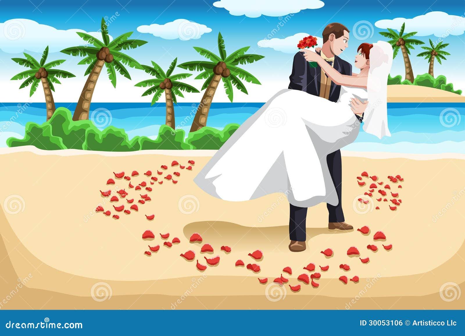 Casamento De Praia Imagem De Stock Royalty Free Imagem