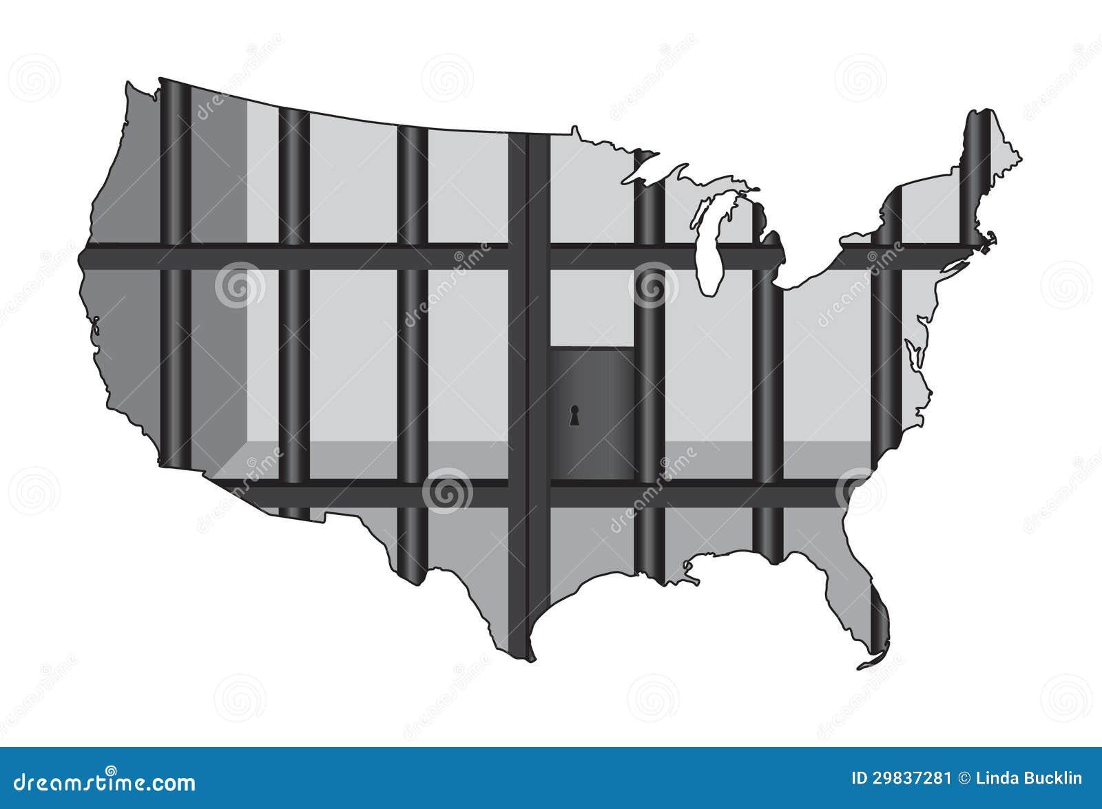 EUA - O capital da prisão do mundo