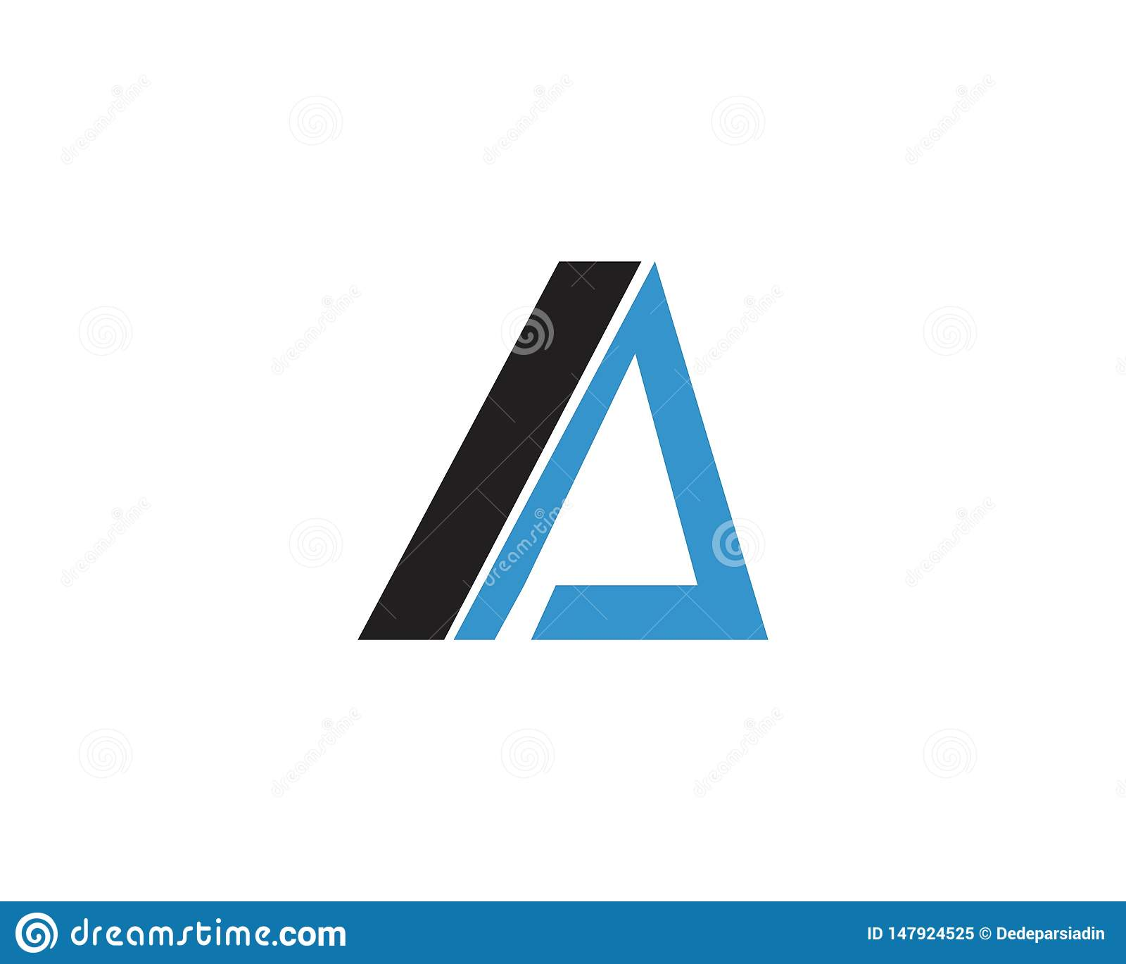 Uma letra Logo Template