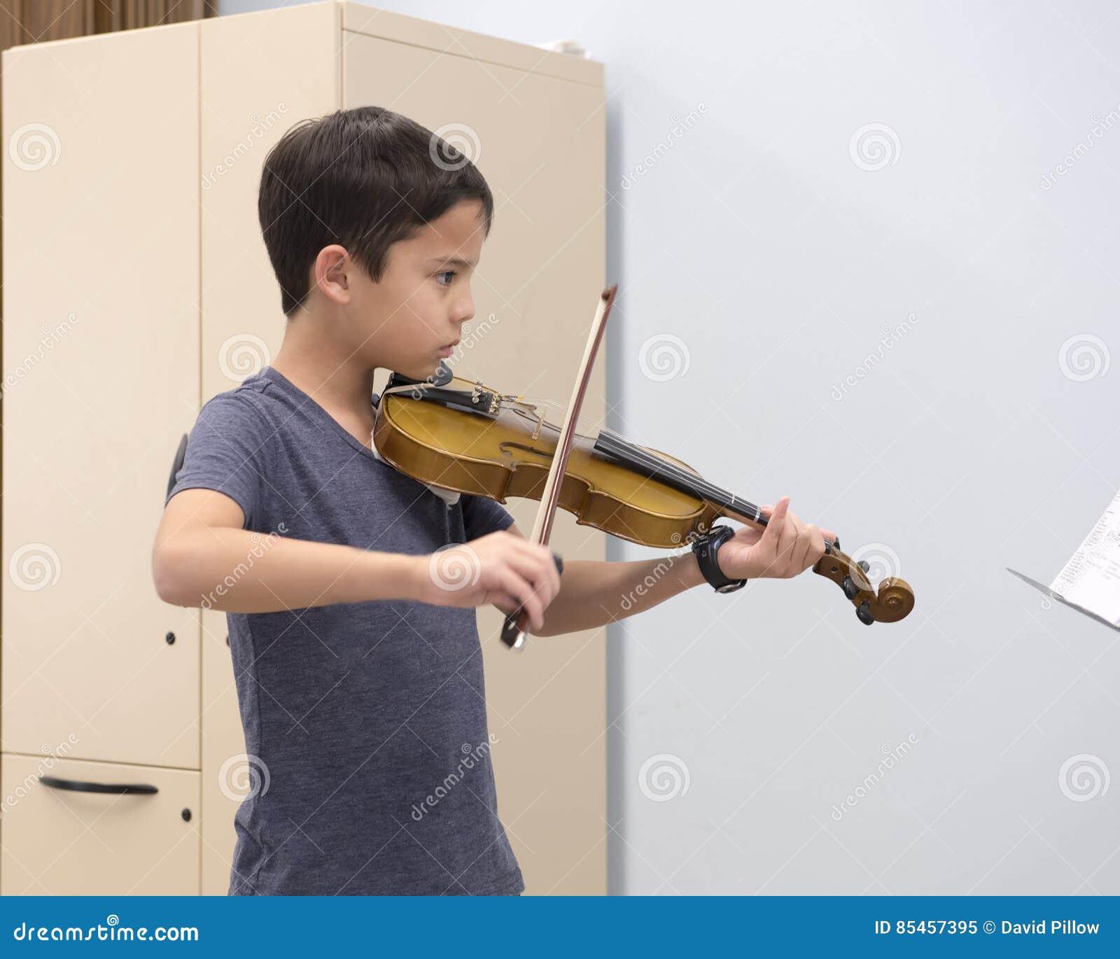Uma lição de violino
