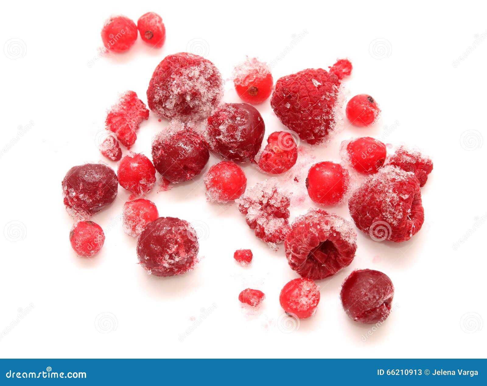 frutos silvestres congelados