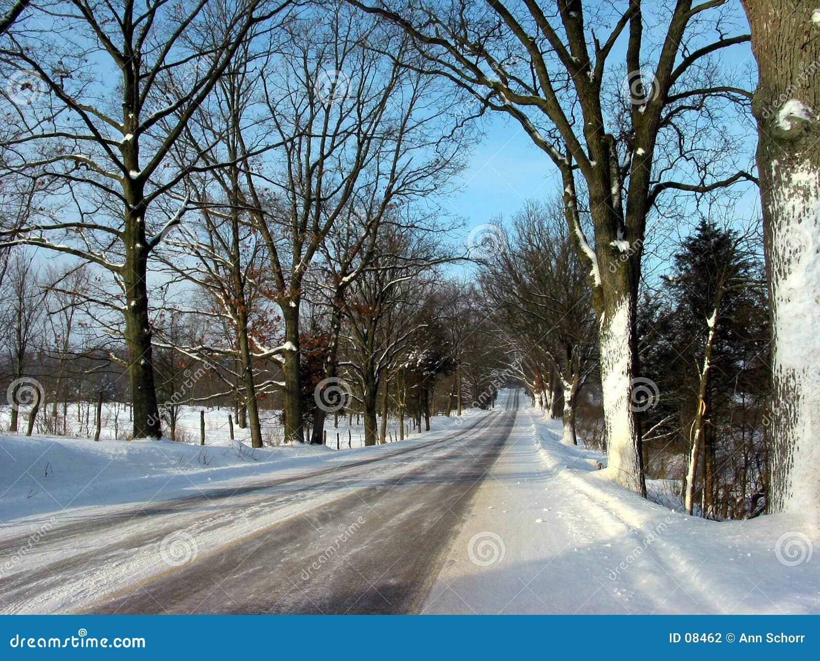 Uma movimentação do inverno