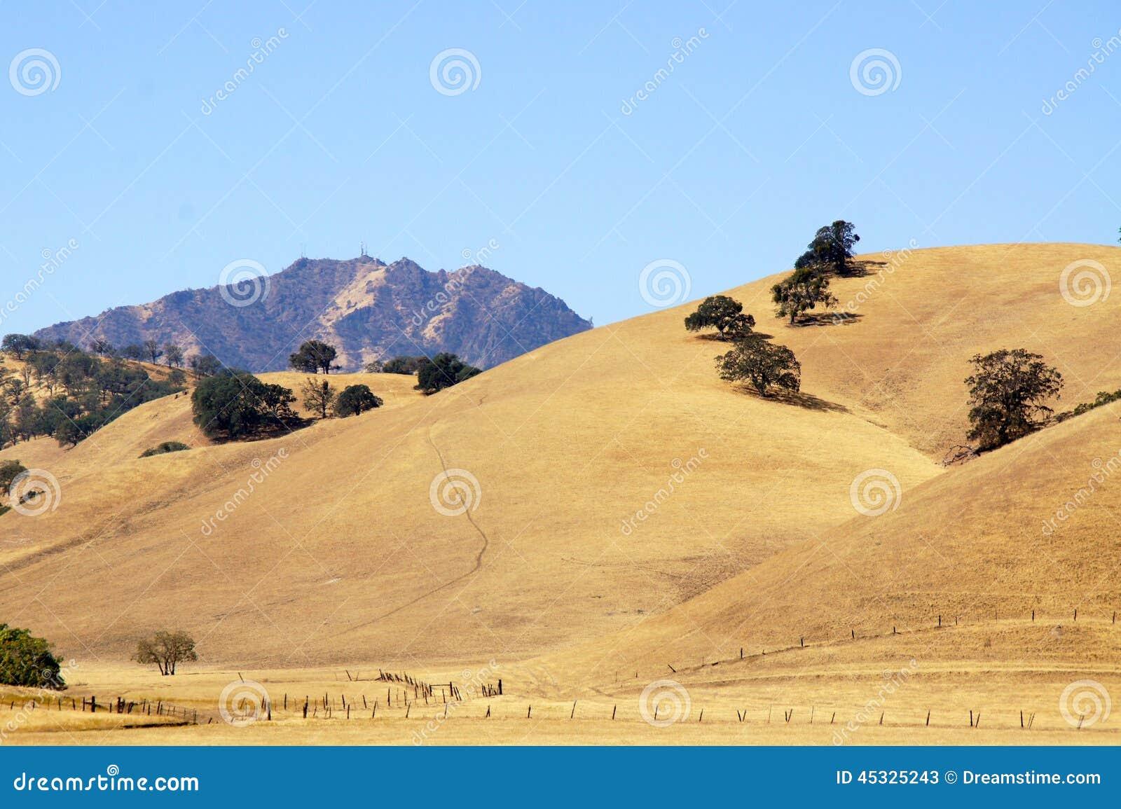 Uma outra vista de Mt Diablo, Walnut Creek, CA
