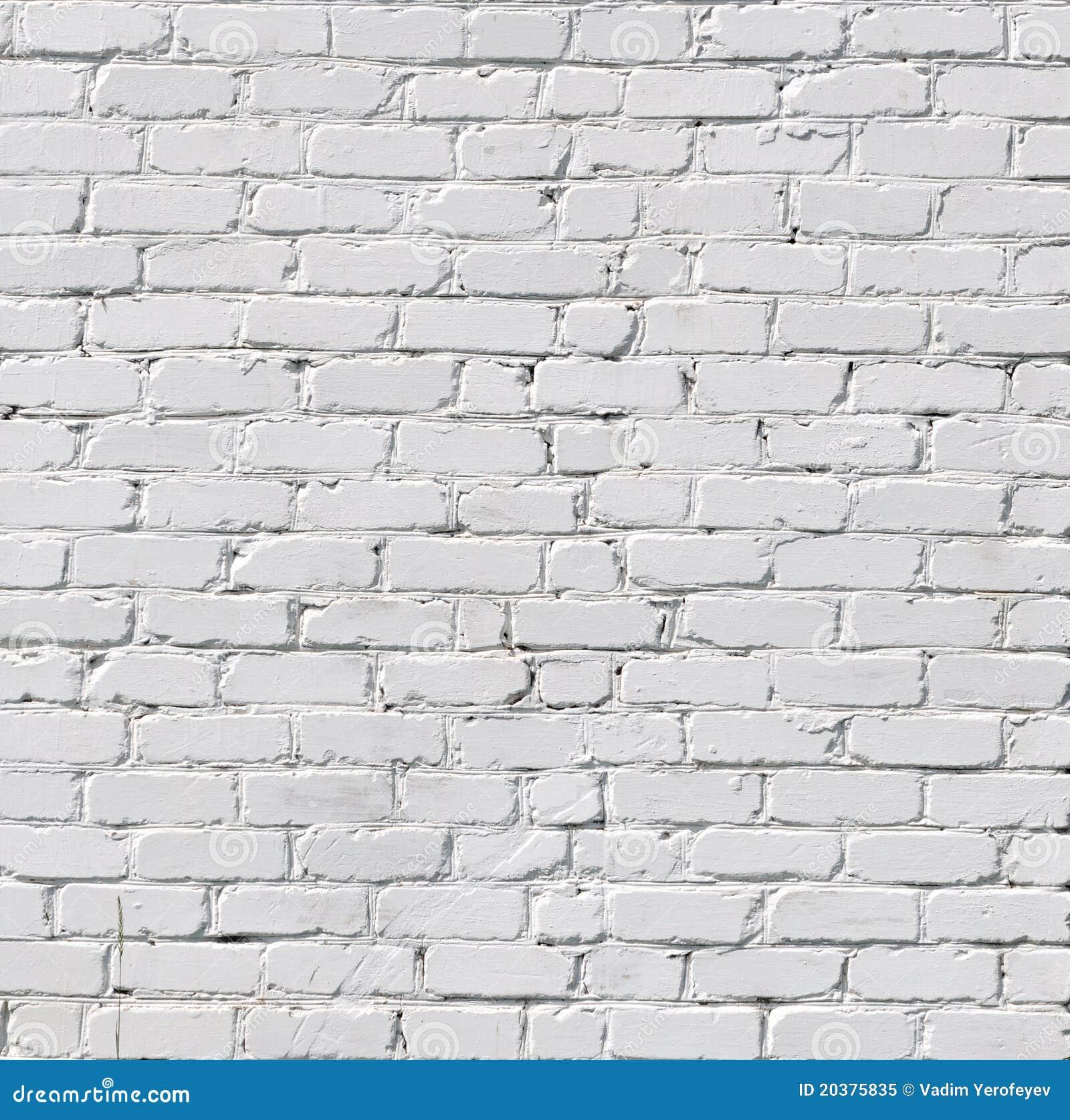 Uma parede de tijolo branca foto de stock royalty free - Pintado de paredes ...