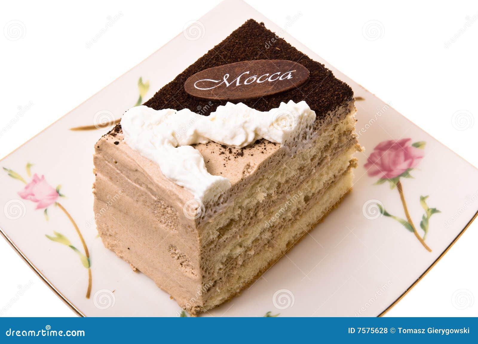 Uma parte de bolo.