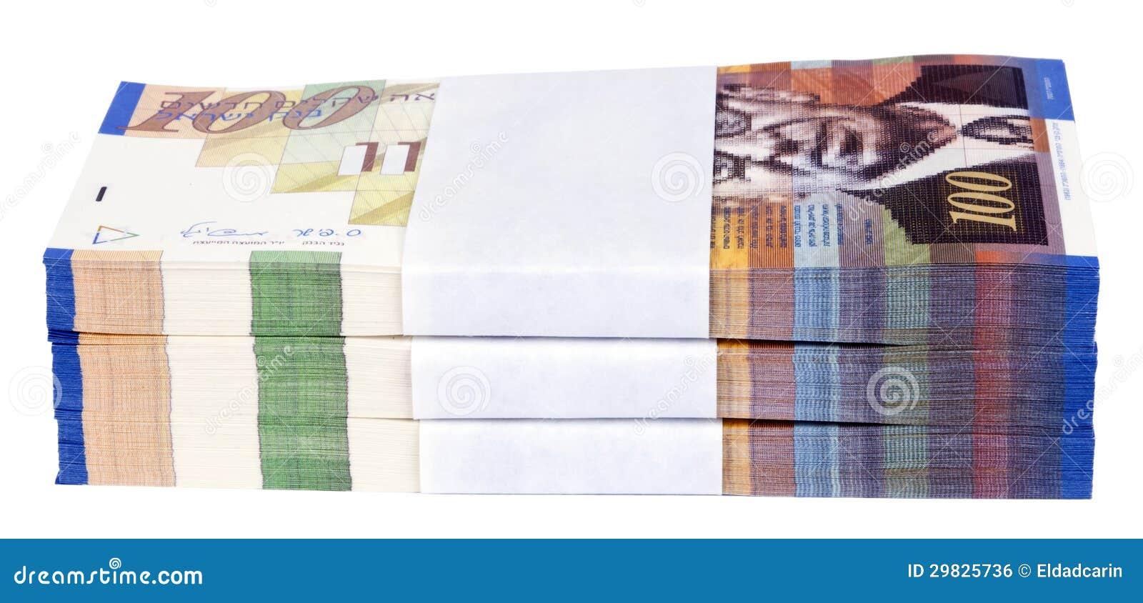 Pilha isolada de 100 contas do NIS
