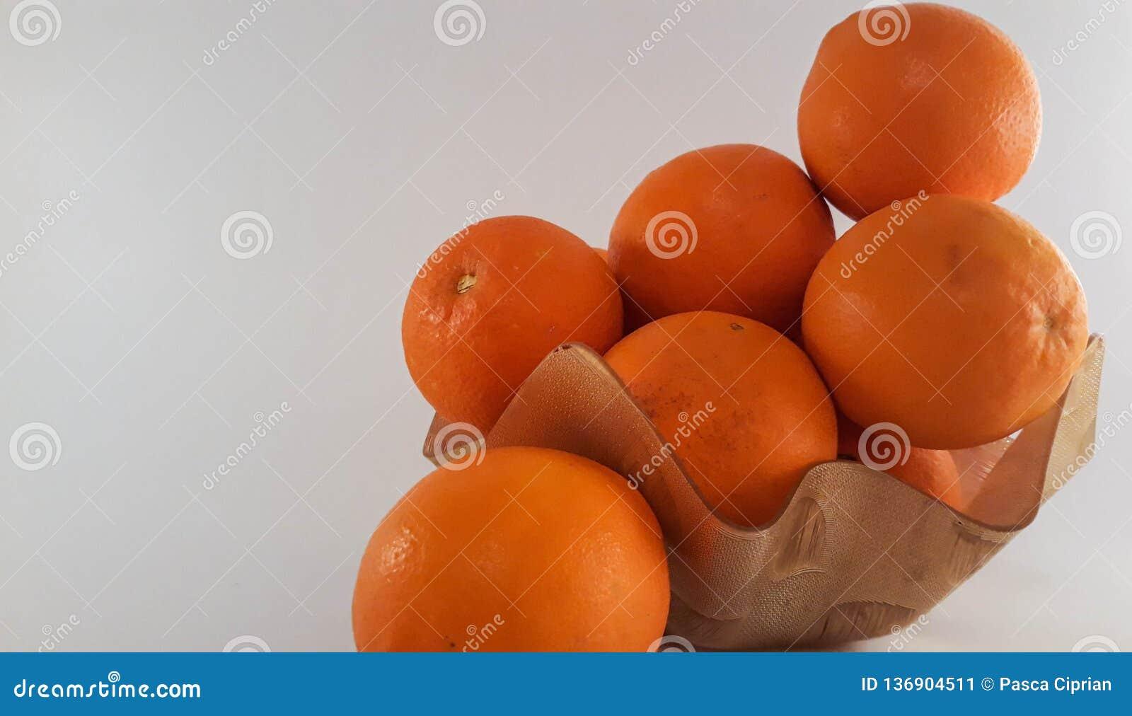 Uma placa das laranjas
