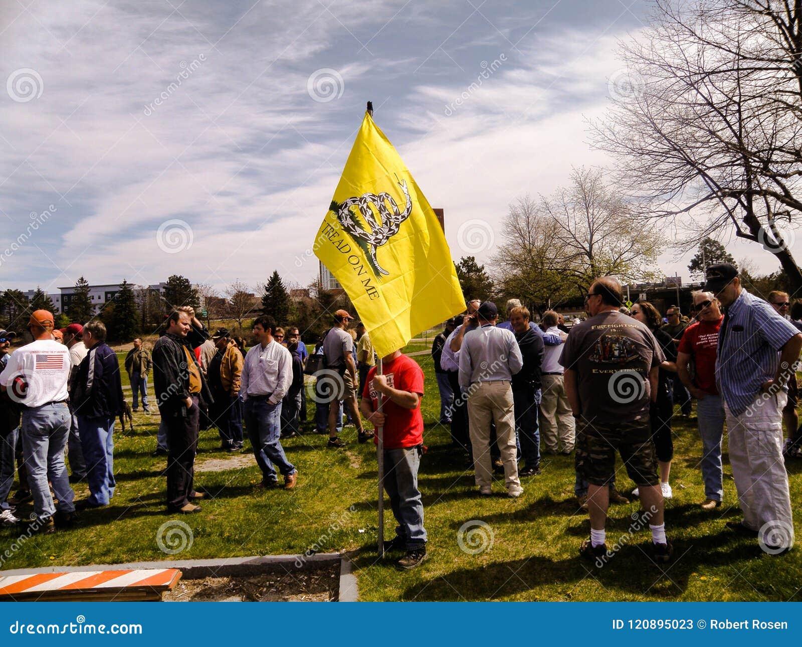 Uma segunda demonstração adiantada da alteração em Portland, Maine