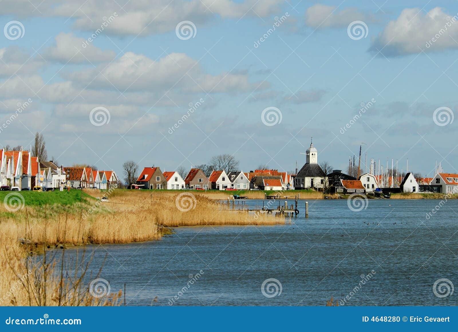 Uma vila holandesa pequena