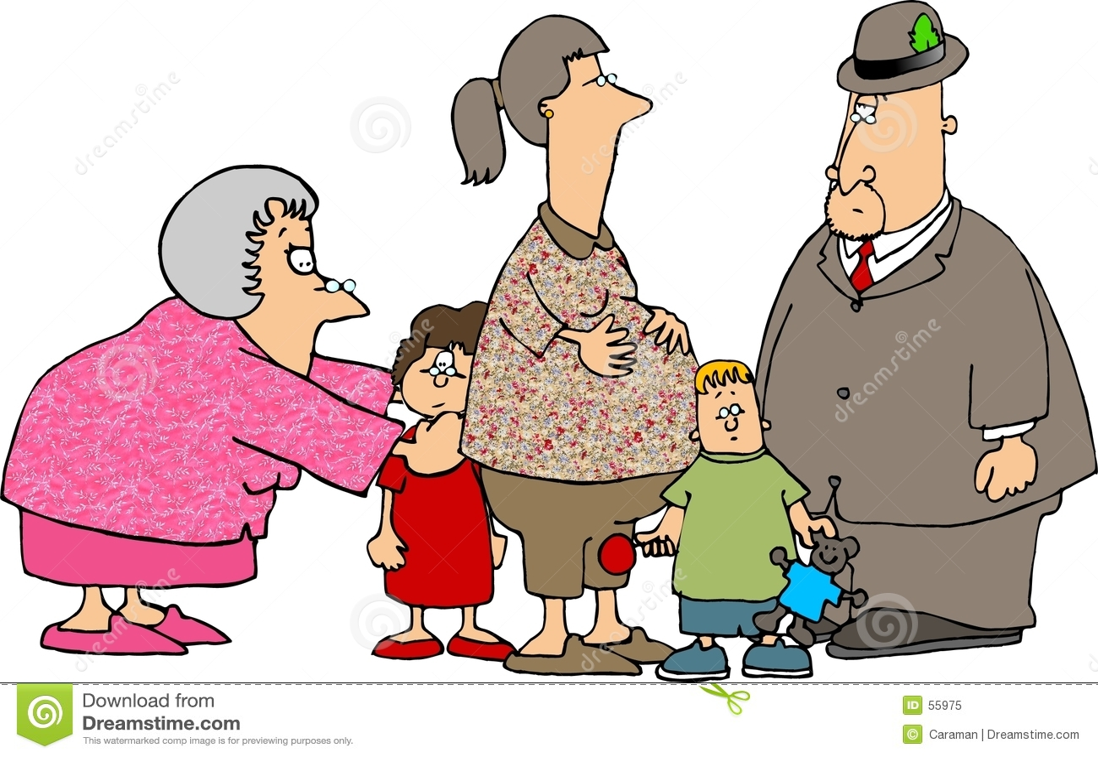 Uma visita com os grandparents