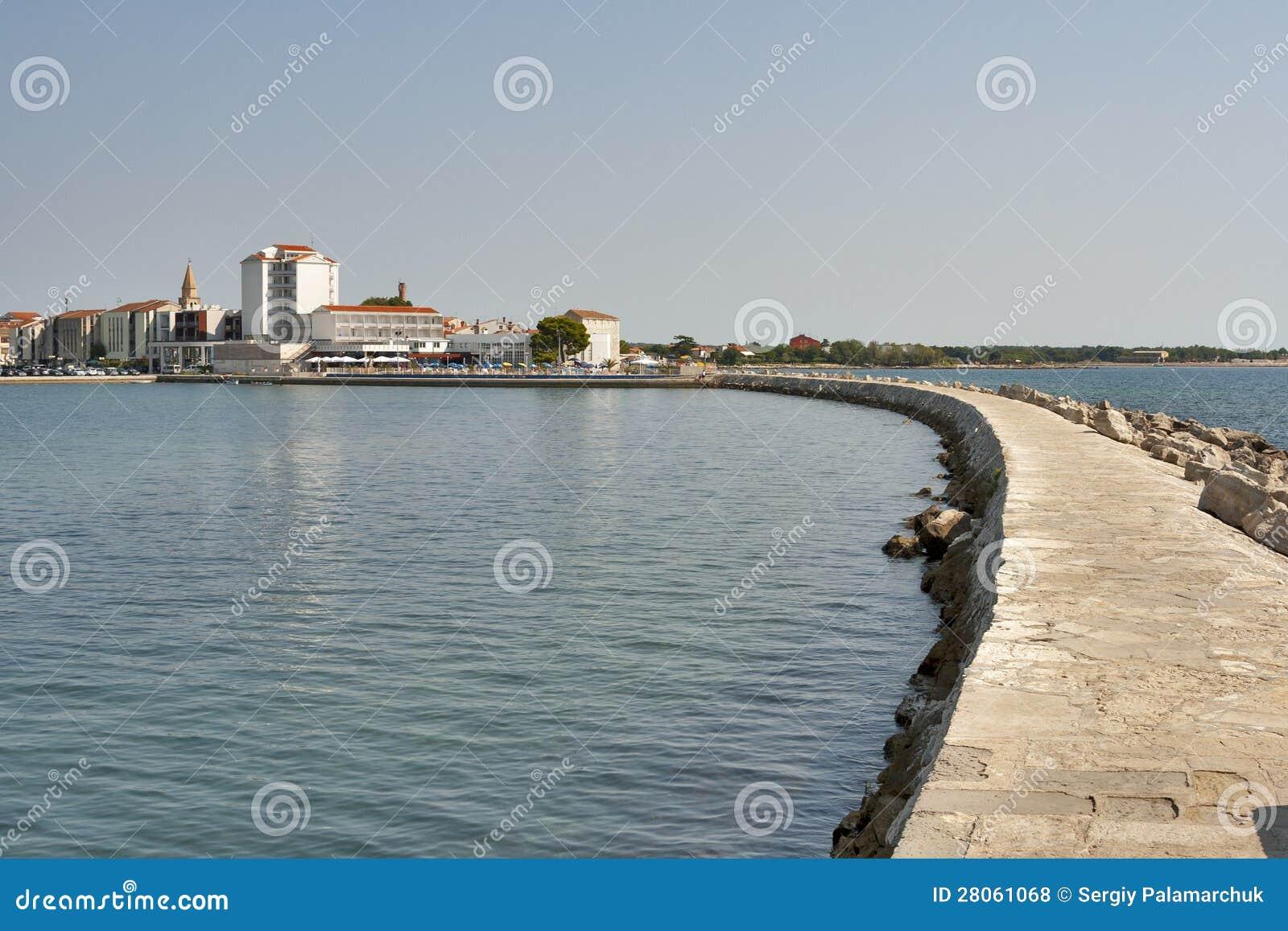 Umag breakwater