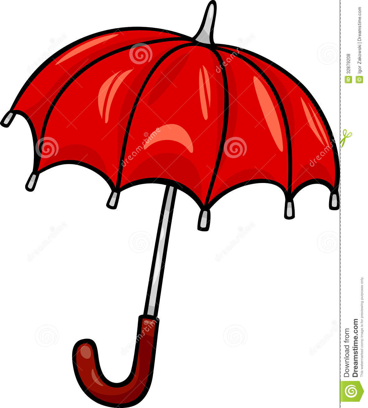 Umbrella Clip Art Cartoon Illustration Royalty Free Stock Photos ...