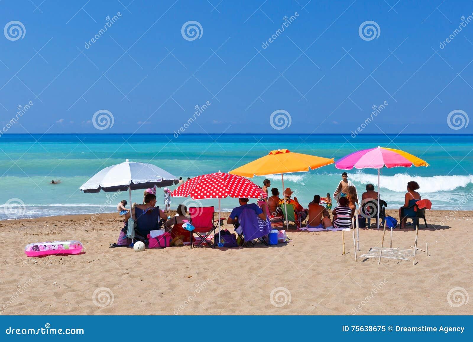 Older Man Sunbathing On A Lilo Stock Photo - Image of