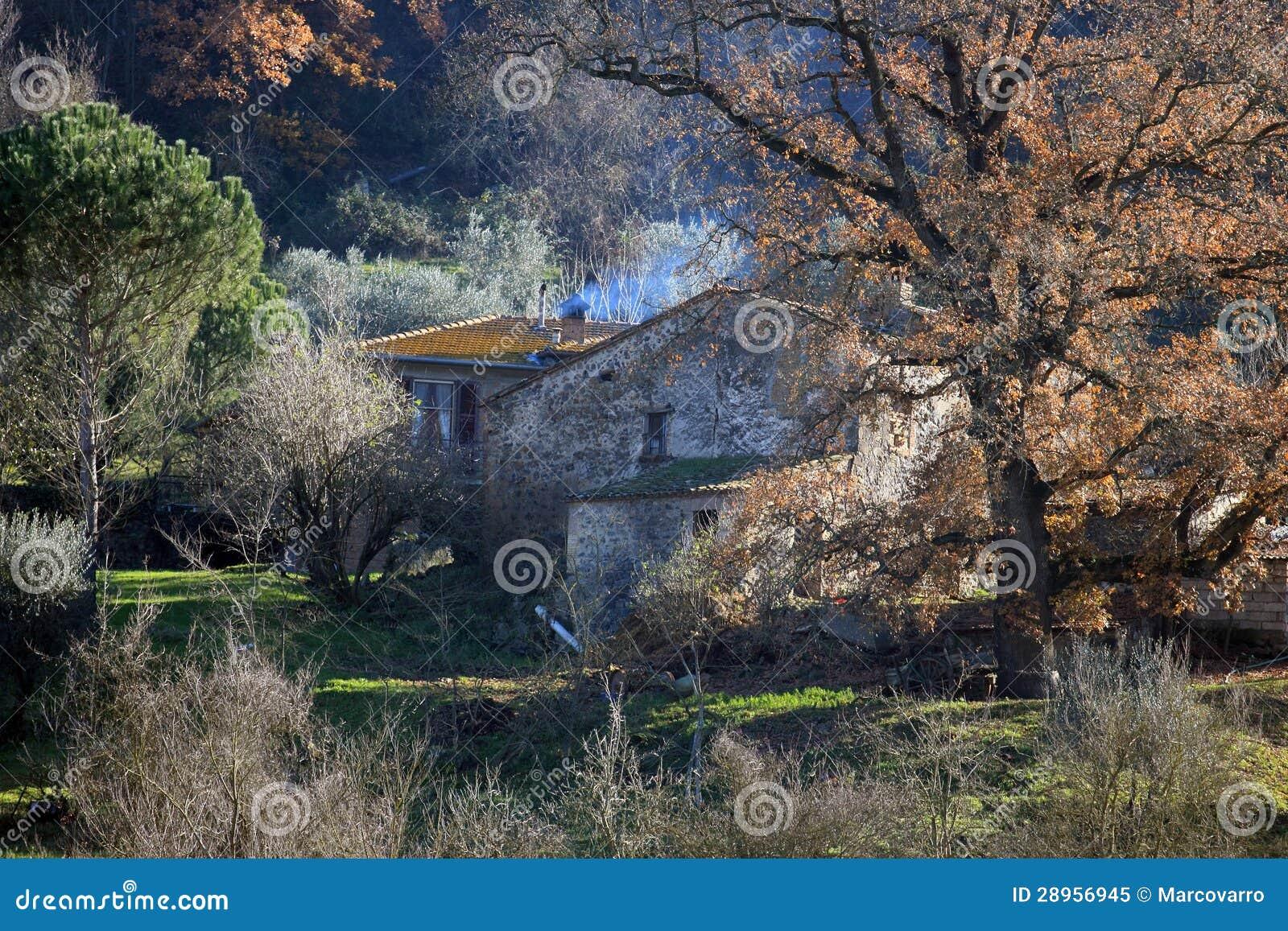 Umbria wiejski dom