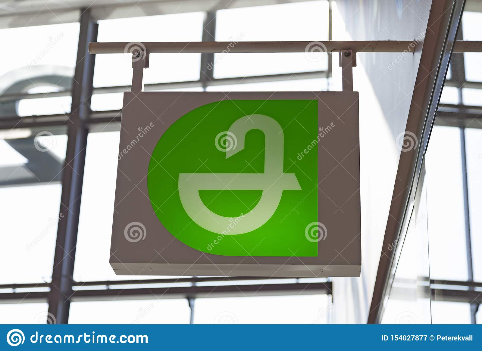 Pharmacy sign at the mall Avion