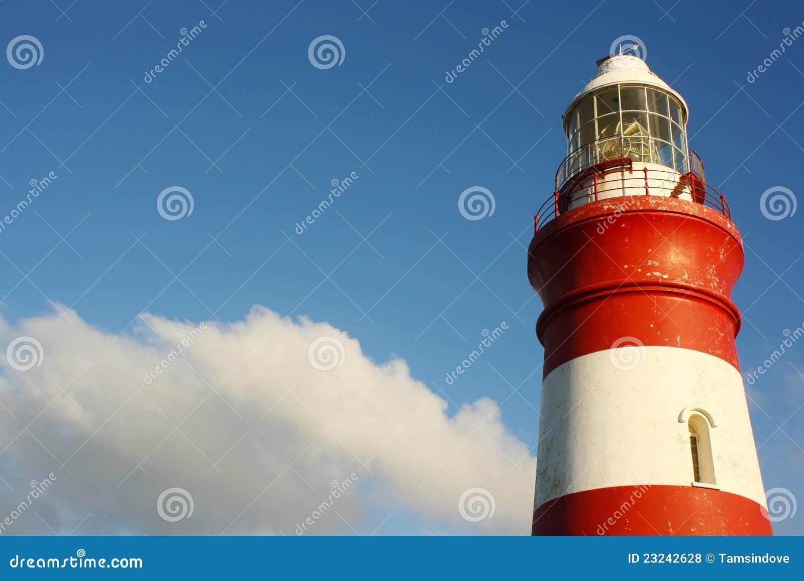 Umhang Agulhas Leuchtturm, Südafrika