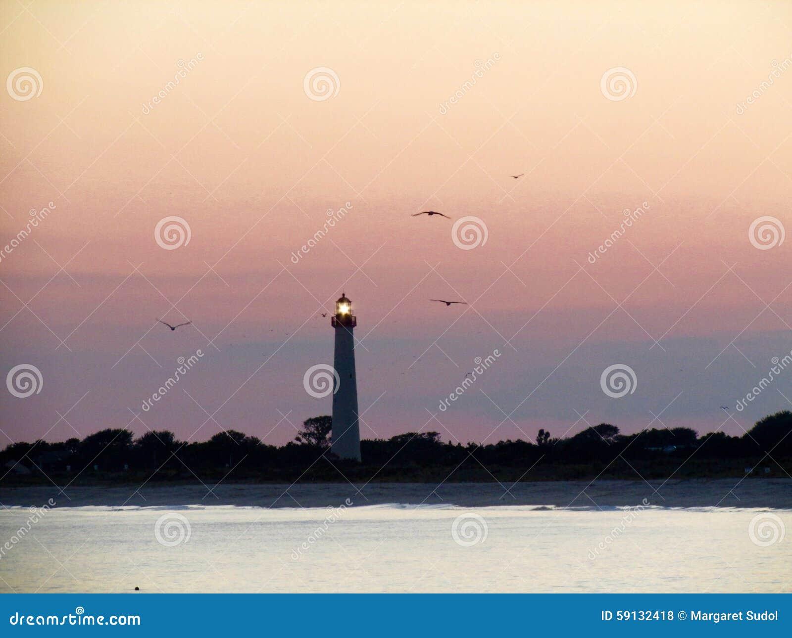 Umhang mag Leuchtturm