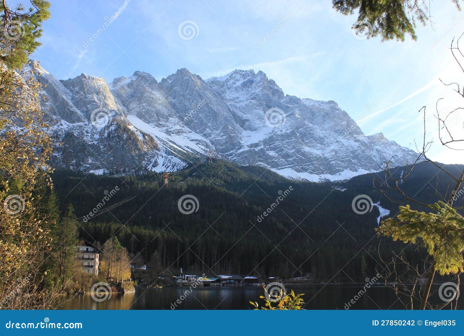 Umiera Zugspitze
