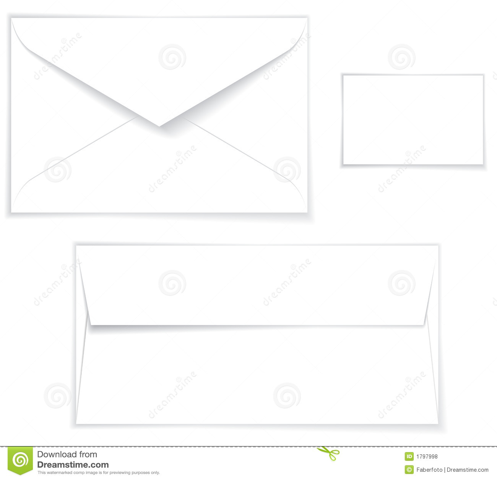 Umschlag-Plan