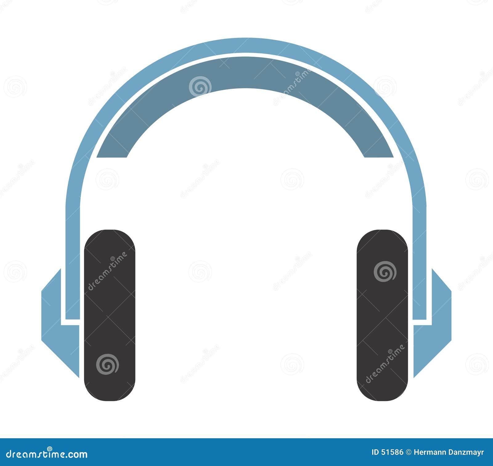 Download Un écouteur illustration de vecteur. Illustration du illustration - 51586