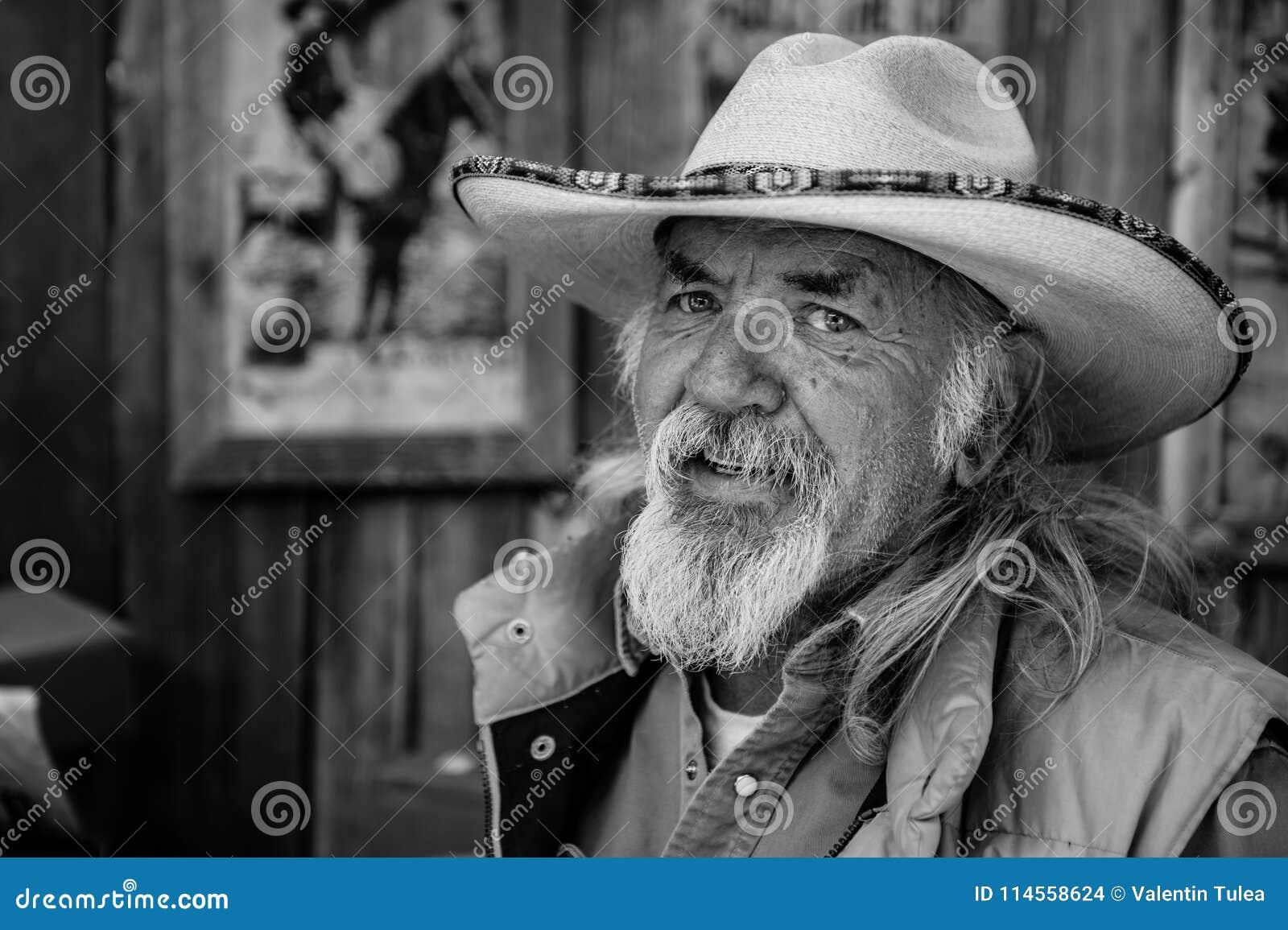 Un americano auténtico de la ciudad de Santa Fe