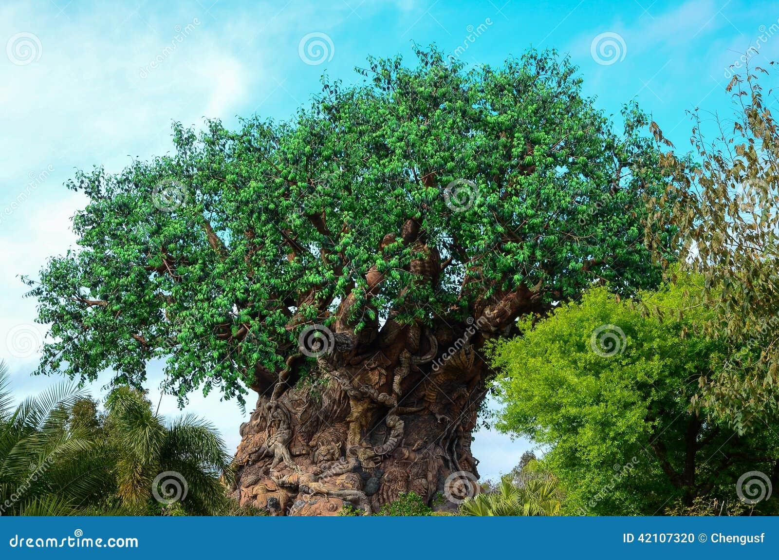 Un arbre énorme