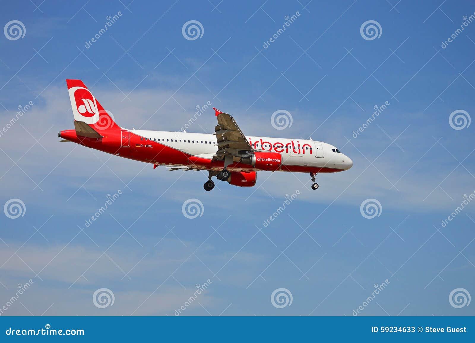 Un aterrizaje de Airbus